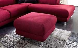 Musterring - Hocker MR 390 in rot