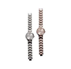 Damen-Armbanduhr mit glänzendem Ziffernblatt