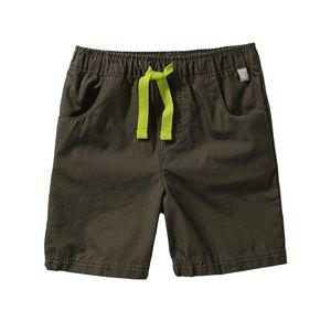 Liegelind Baby-Jungen-Shorts mit Kontrast-Kordel