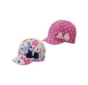 Baby-Mädchen-Kappe mit Zierschleife