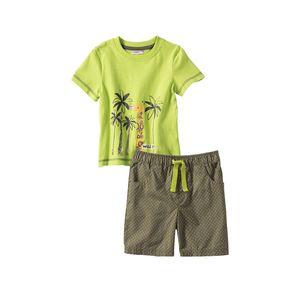 Liegelind Baby-Jungen-Set mit Giraffen-Aufdruck
