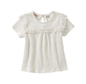 Liegelind Baby-Mädchen-T-Shirt mit Spitze