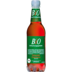 Bio Erfrischungsgetränk Holunder Cranberry