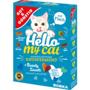 Gut & Günstig Hello my cat Knuspermenü