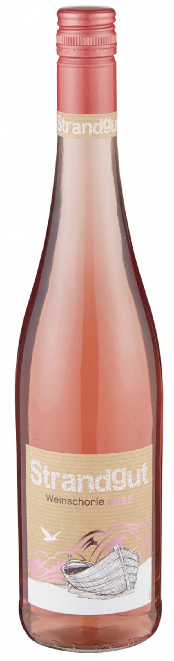 Weinschorle Rosé Strandgut, lieblich