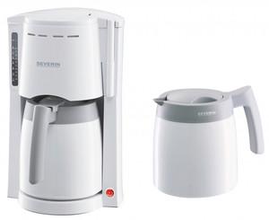 Severin Kaffeemaschine mit 2 Thermokannen KA9233, weiß