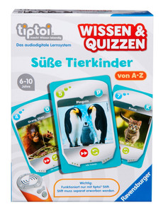 Ravensburger Wissen & Quizzen: Süße Tierkinder