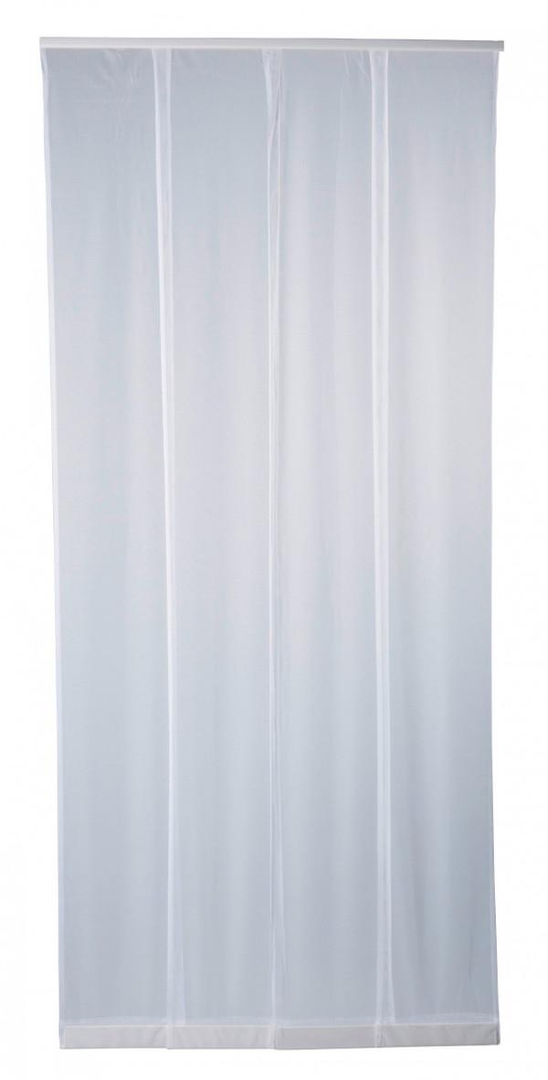 Purework Lamellenvorhang, weiß