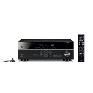 Yamaha MusicCast RX-V585 7.2 AV-Receiver Dolby Atmos AirPlay WiFi schwarz