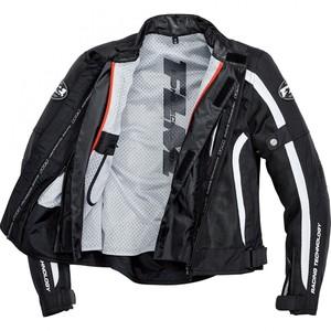 FLM            Sports Damen Textil Jacke 1.1 schwarz/weiß