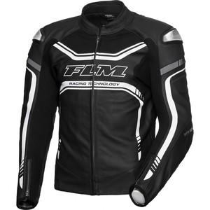 FLM            Sports Leder Kombijacke 3.1 schwarz/weiß