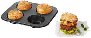 LET'S BBQ  Burgerbrötchen-Form