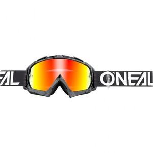 O'Neal            B-10 Crossbrille Pixel Radium schwarz/weiß