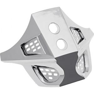 Nexo            Mundbelüftung MX-Line Crosshelm silber