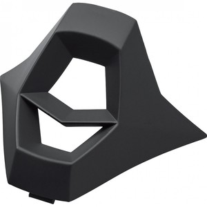 Nexo            Kinnbelüftung MX-Line Junior Crosshelm schwarz