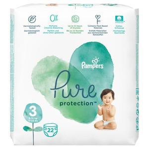 Pampers Pure Protection Windeln Größe 3 (6-10 kg)
