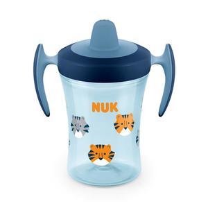 NUK Trainer Cup Trinklernflasche, blau