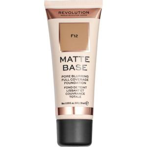 Makeup Revolution Matte Base Make Up F12 21.39 EUR/100 ml