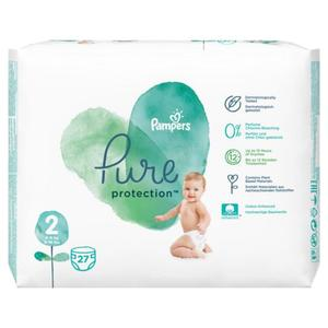 Pampers Pure Protection Windeln Größe 2 (4-8 kg)