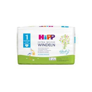 HiPP Babysanft extra weiche Windeln Größe 1 (Newborn, 2-5 kg)