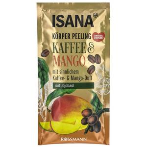 ISANA Körper Peeling Kaffee & Mango 2.48 EUR/100 g