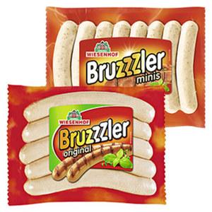 """Wiesenhof """"Bruzzzler"""" Geflügelbratwurst jede 350/400-g-SB-Packung"""