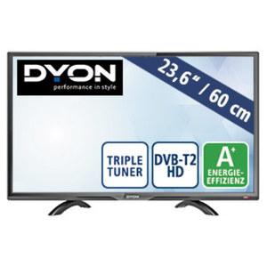 "23,6""-FullHD-LED-TV Live 24 Pro • HDMI-/USB-/CI+-Anschluss • Stand-by: 0,5 Watt, Betrieb: 19 Watt • Maße: H 33 x B 55,4 x T 7,2 cm • Energie-Effizienz A+ (Spektrum A++ bis E)"