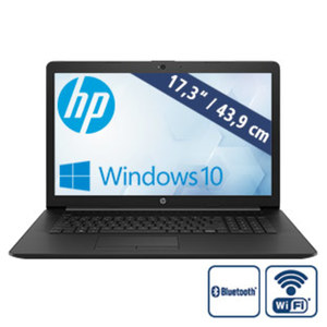 Notebook 17-ca0511ng • blendfreies HD+-SVA-Display • AMD A6-9225 (bis zu 3 GHz) • AMD Radeon™ R4-Grafikkarte • USB 2.0, USB 3.1 • DVD-Laufwerk