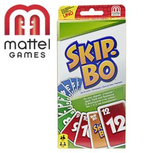 Skip-Bo für 2 - 6 Spieler, ab 7 Jahren
