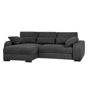 home24 Boxspring-Ecksofa Comox Webstoff