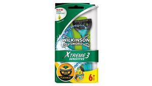 Wilkinson Sword Xtreme 3 Sensitive Herren Einwegrasierer, 6 Stück