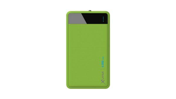 Zusatzakku XLayer Powerbank Colour Line Green 4000mAh Smartphones/Tablets
