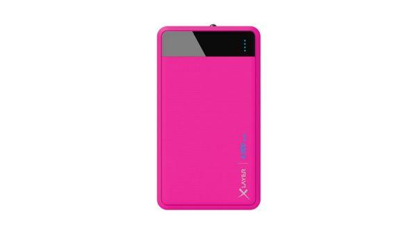 Zusatzakku XLayer Powerbank Colour Line Pink 4000mAh Smartphones/Tablets