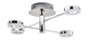 LED-Deckenleuchte, 4-flammig, Chrom