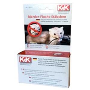 K&K Marderabwehr Marder-Stäbchen 140211 für den Motorraum, 2 Stäbchen für 1 Anwendung