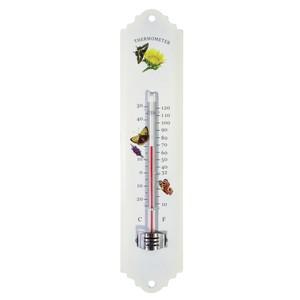 Thermometer aufhängbar aus Metall für innen und außen