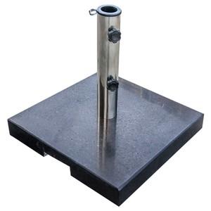 Sonnenschirmständer 25 kg aus Granit in schwarz