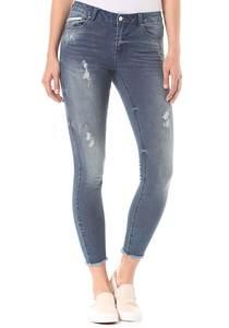 Vila Vicommit RW 5P 7/8 - Jeans für Damen - Blau