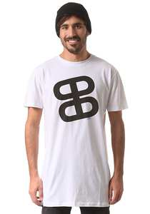 PLANET SPORTS Icon Logo Teamfit - T-Shirt für Herren - Weiß