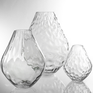 Dragimex, Vase, grau, 23 x 29 cm H, 63471