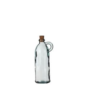 Panama Krug glas mit Kork - h22xd8cm