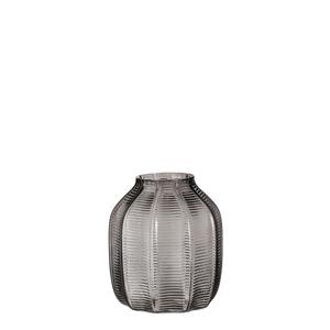 Vase Streiff d.grau - h17,5xd15cm