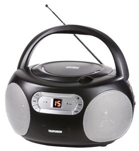 Telefunken CD-Radio RC1009 in schwarz