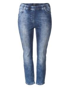 VIA APPIA DUE - Topmodische Jeans mit Schmuckstein-Dekoration