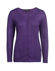 Bexleys woman - Einfarbige Strickjacke