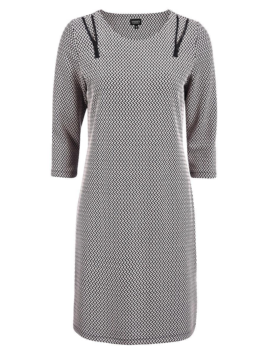 Bild 4 von Viventy - Modernes Jacquard-Jersey-Kleid