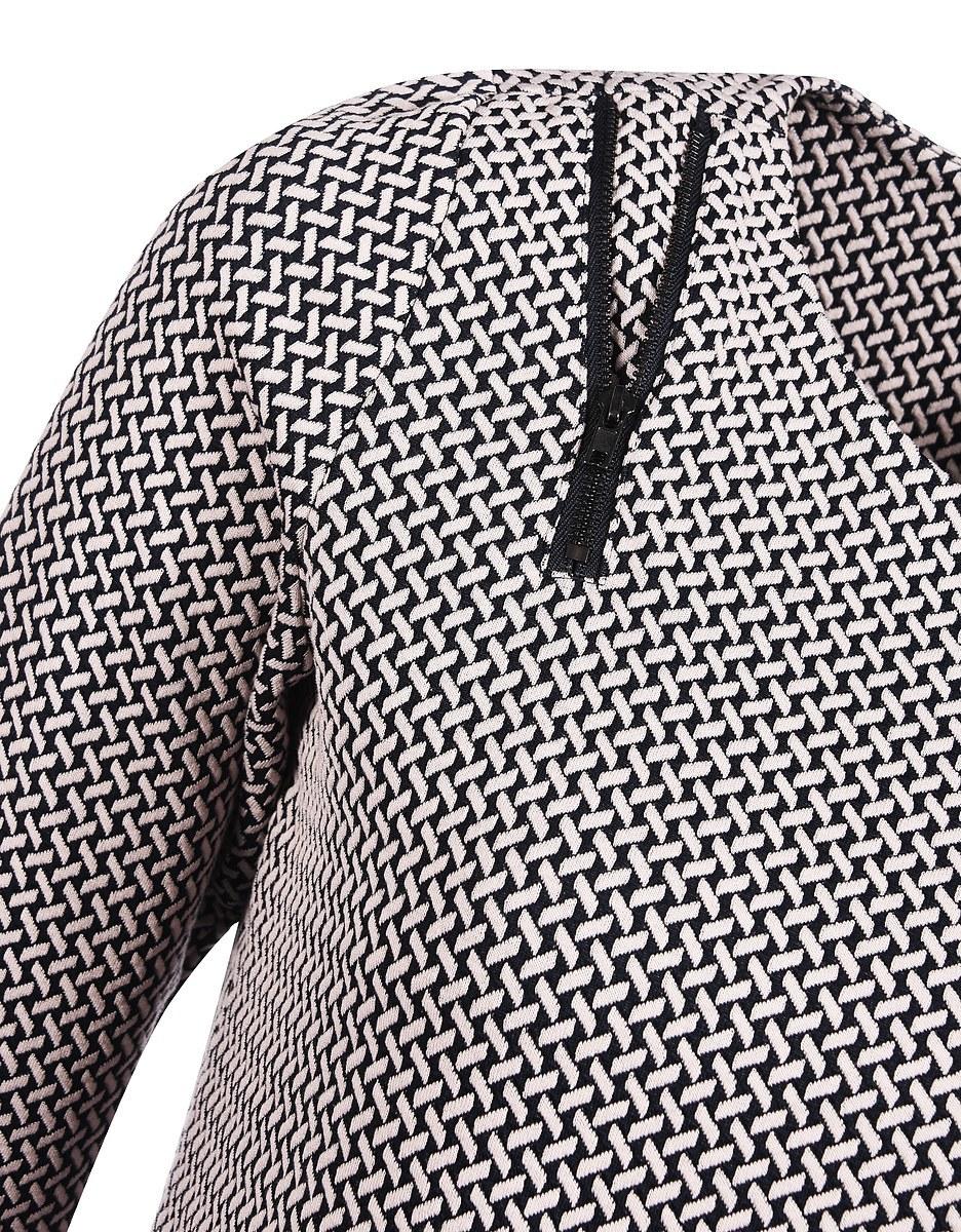 Bild 5 von Viventy - Modernes Jacquard-Jersey-Kleid