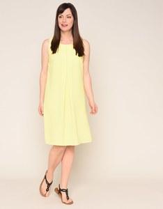 Viventy - sommerliches Crêpe-Kleid mit Kellerfalte