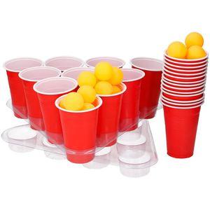 Partyspiel Bier-Pong 48-teilig
