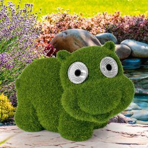 EASYmaxx Solar-Figur Hippo